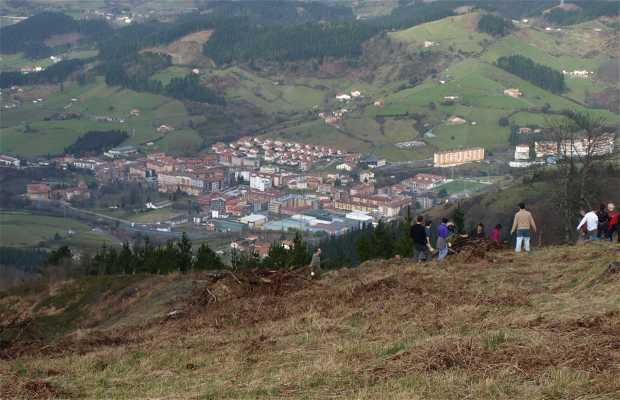 Zaldua-solo enparantza, Zaldibar (Bizkaia)