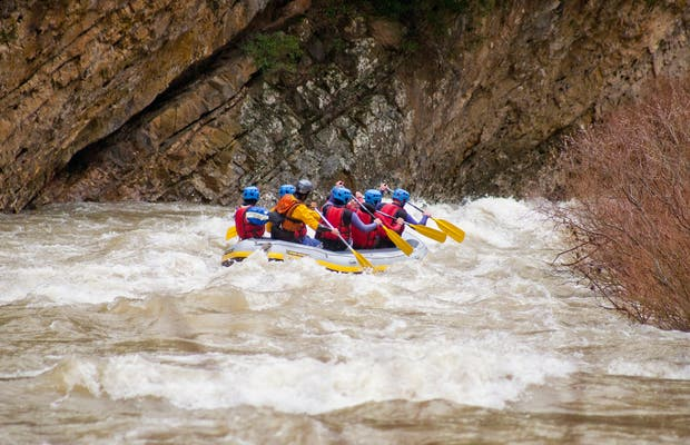Rafting in Roncal Valley