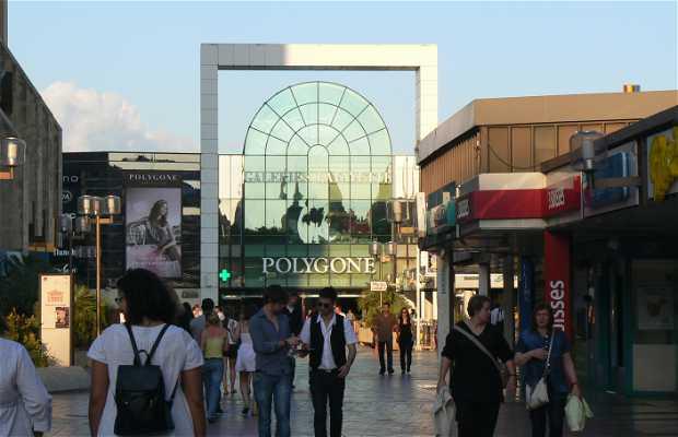 Centro comercial Polygone