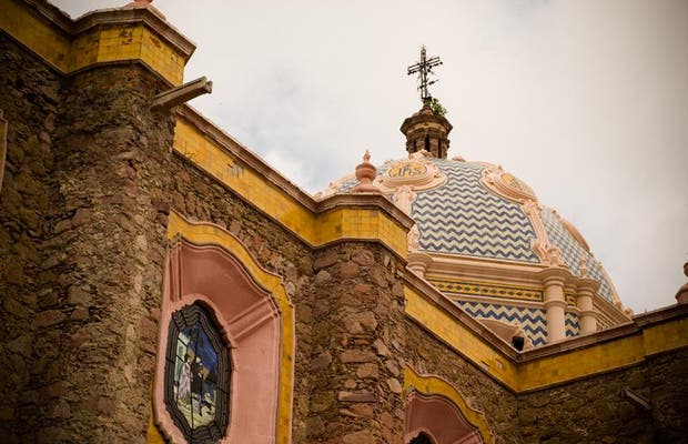 Jardín e Iglesia del Encino
