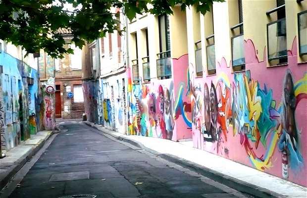 La fresque de la rue Gramat