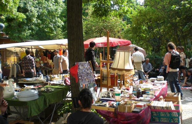 Flea Market of Boxhagener Platz