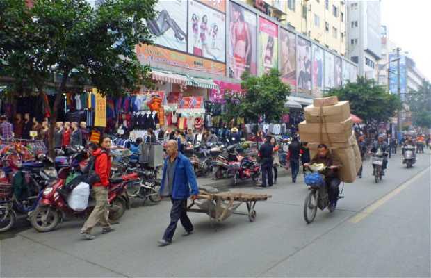 Mercadillo popular de Chengdu