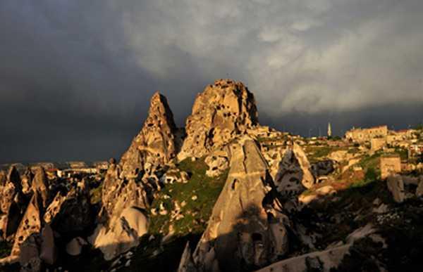 I paesaggi di Uchisar
