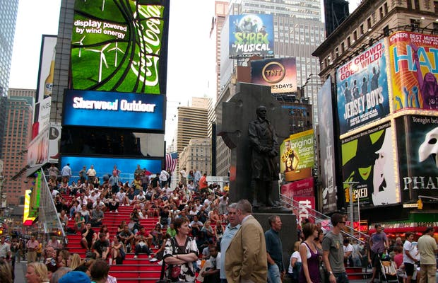 Father Duffy Square
