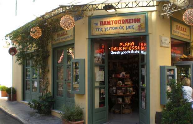 Negozio Pantopoleion ad Atene