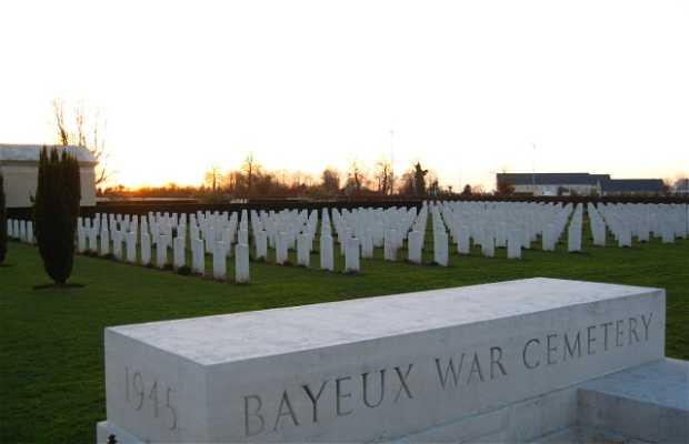 Cementerio militar británico de Bayeux