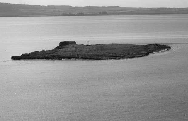 Island of St Cuthbert in Lindisfarne