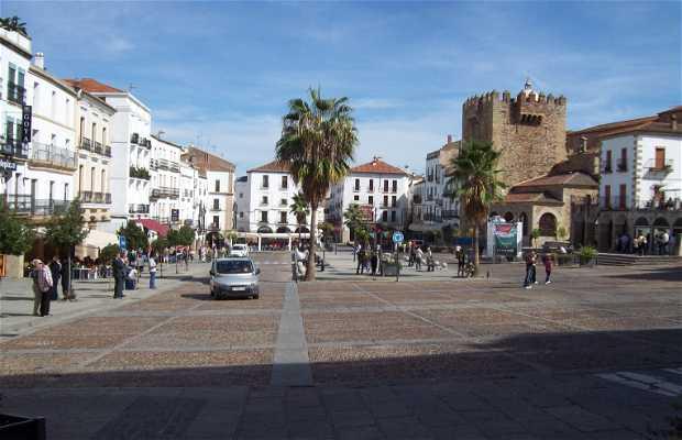 Piazza Maggiore a Cáceres