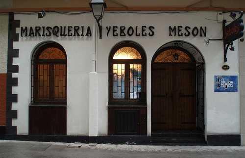 Restaurante Yeboles