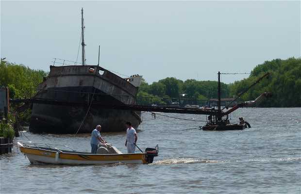 Viaje en barco por Tigre