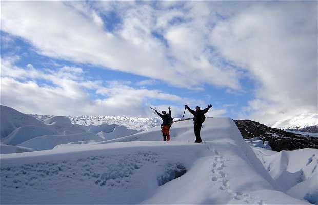 Trekking por el Glaciar Grey