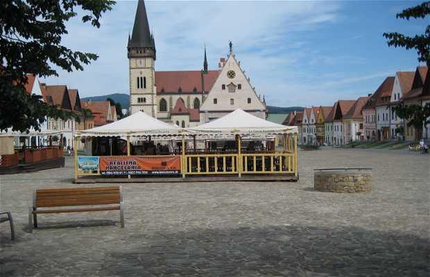 Plaza del ayuntamiento, Bardejov