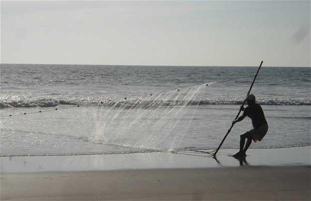 Pescadores en Arambol