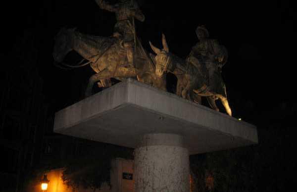 Estatua del Quijote