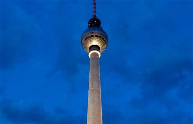 Torre Berliner Fernsehturm