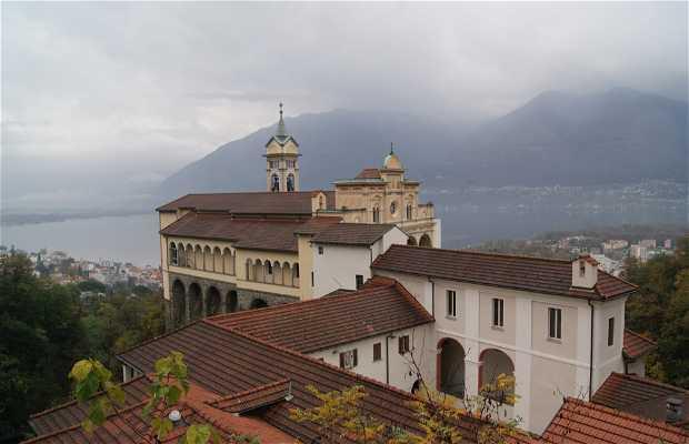 Iglesia de la Madonna del Sasso, Locarno