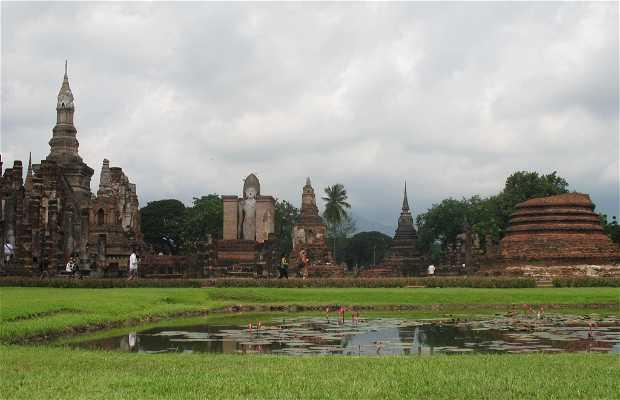 Wat Mahathat antico centro spirituale a Sukhothai