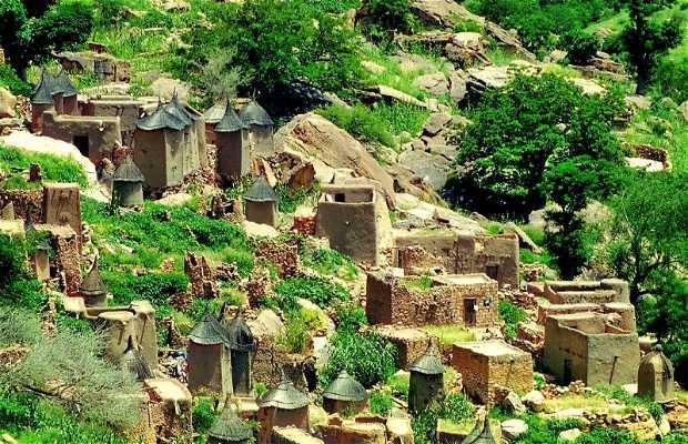 El poblado Dogón de Djiguibombo