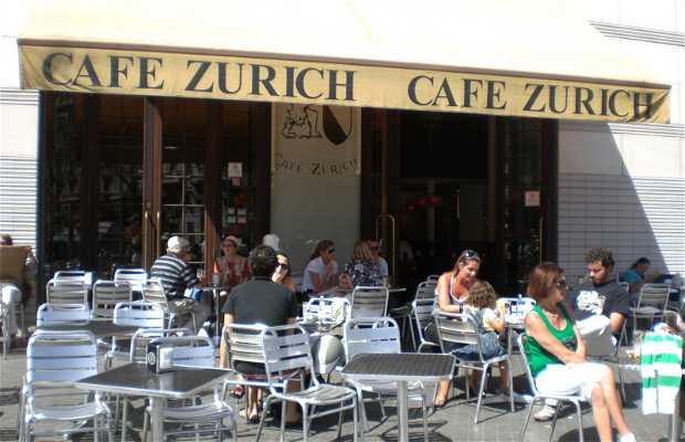 Café Zurich a Barcellona