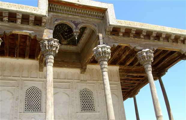 Las murallas de Bukhara