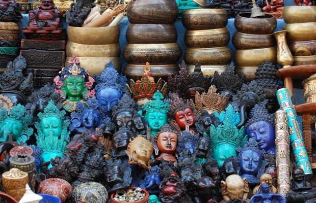 Tiendas de antigüedades y artesanías (Kathmandu)