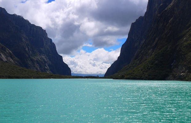 Lagos del parque Huascaran