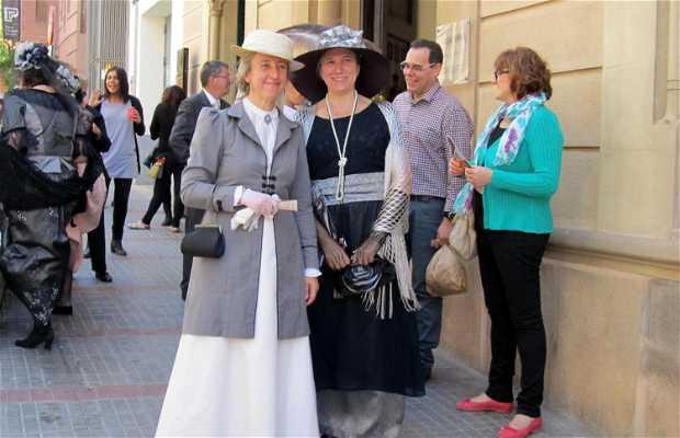 La Feria Modernista y Minyons en el Casal Bosch