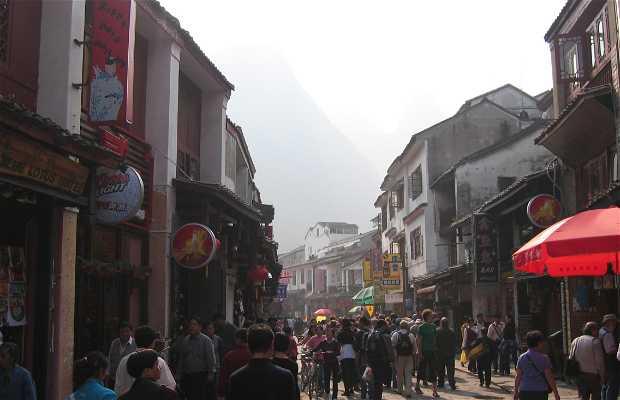 La calle Xi Jie, la más comercial