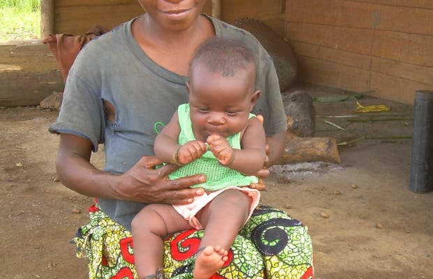 Pygmées du Gabon