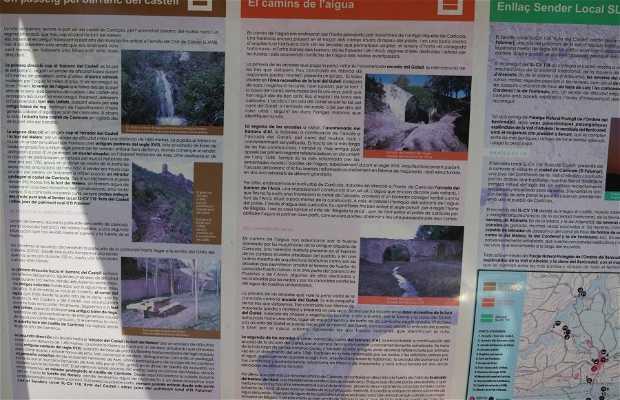 Les arcades y la ruta del agua