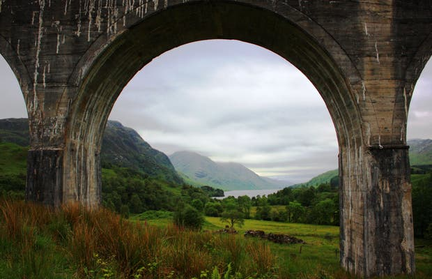 Bridge close to Fort William
