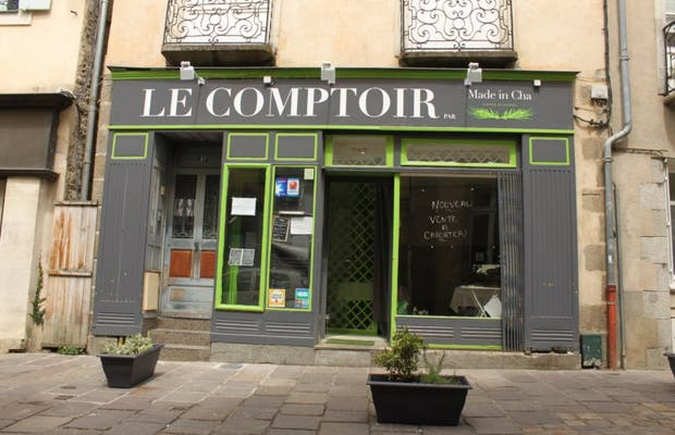 "Restaurant le comptoir ""made in Cha"""