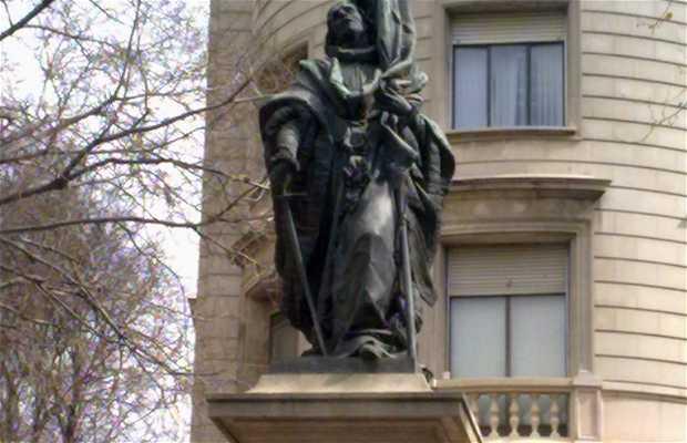 Estatua Rafael Casanova