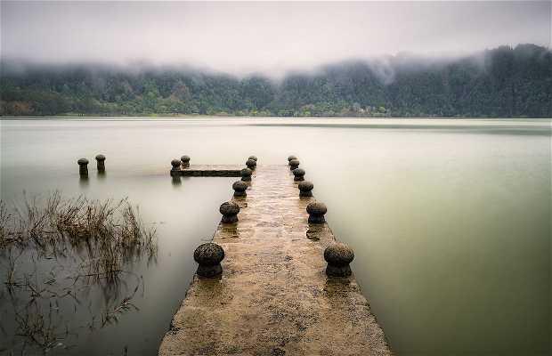 El lago das Furnas