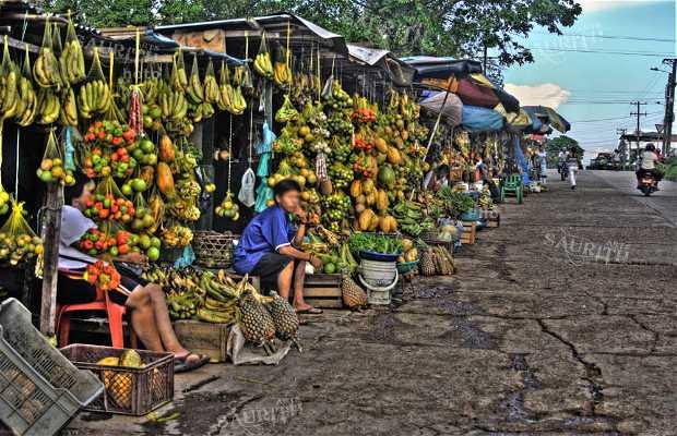 La calle de las frutas
