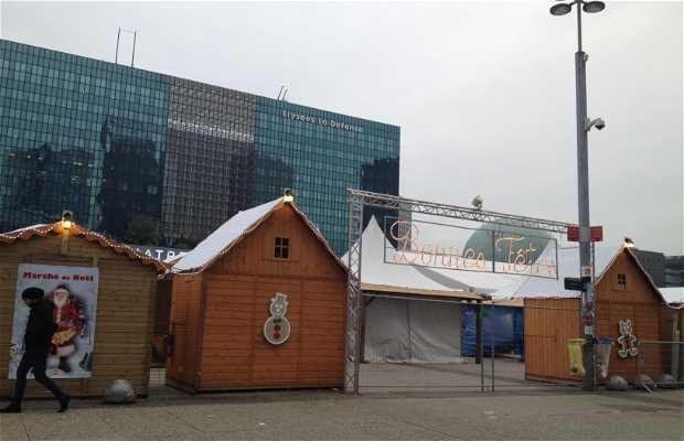 El mercado de Noel de La Defense