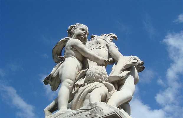 La fontana dei Cherubini