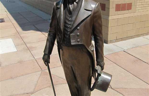Estatua de John Quincy Adams