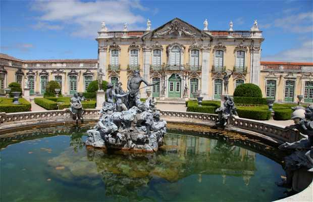 Jardins Palácio Nacional de Queluz