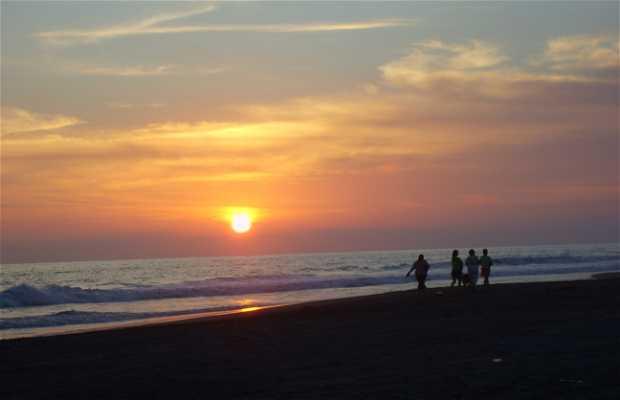 Sunset in Tecoman