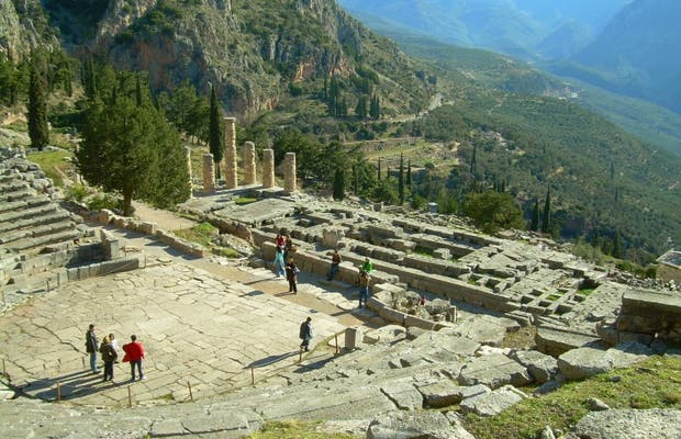 Theatre at Delphi in Delfoí: 3 reviews and 9 photos