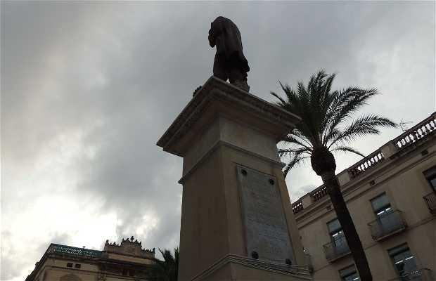 Estatua Josep Tomás Ventosa