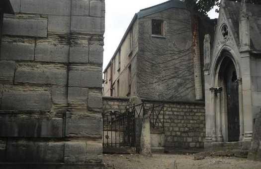 El cementerio de St. Pierre