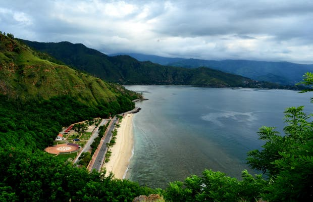 El Litoral de Dili, Timor Est