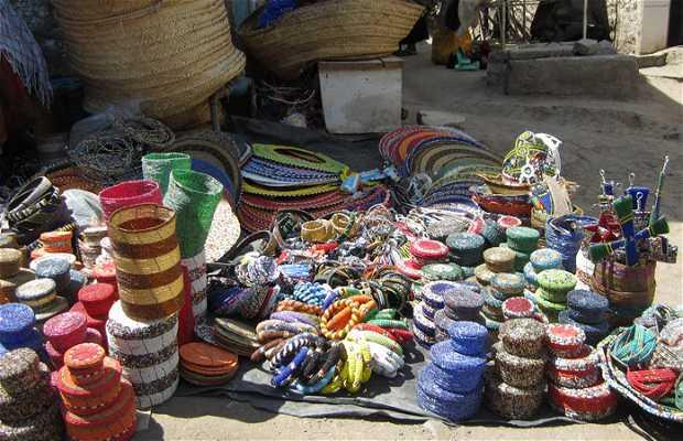 Mercado artesanías de Arusha