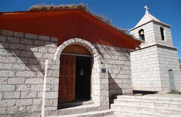 Iglesia reciente de Socaire