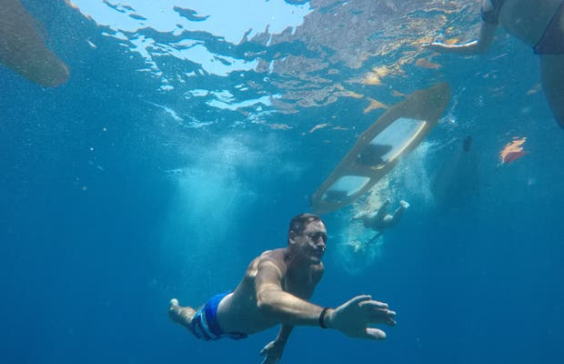 Piragua en Los Gigantes - Xtrem Kayak
