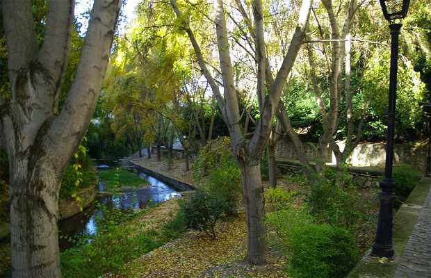 Vistas desde vivienda rural Río Cerezuelo