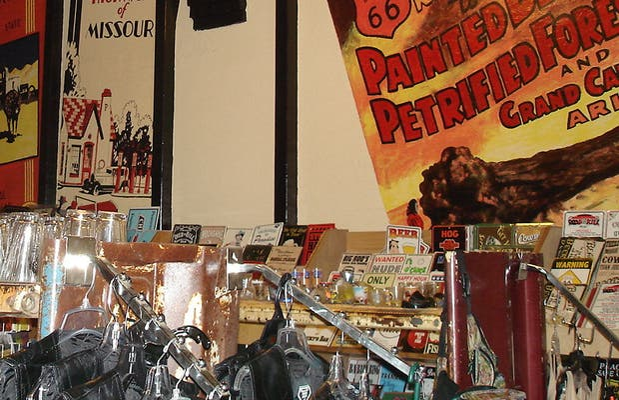 Tienda del Cruiser's Cafe 66